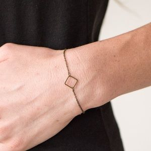 Jewelry - 🎻 The square minimum brass bracelet